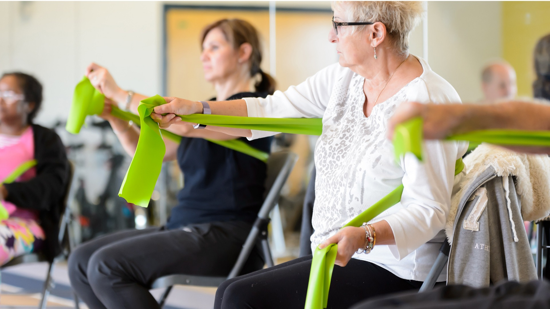 Chair Based Exercise - entry level classes for all abilities