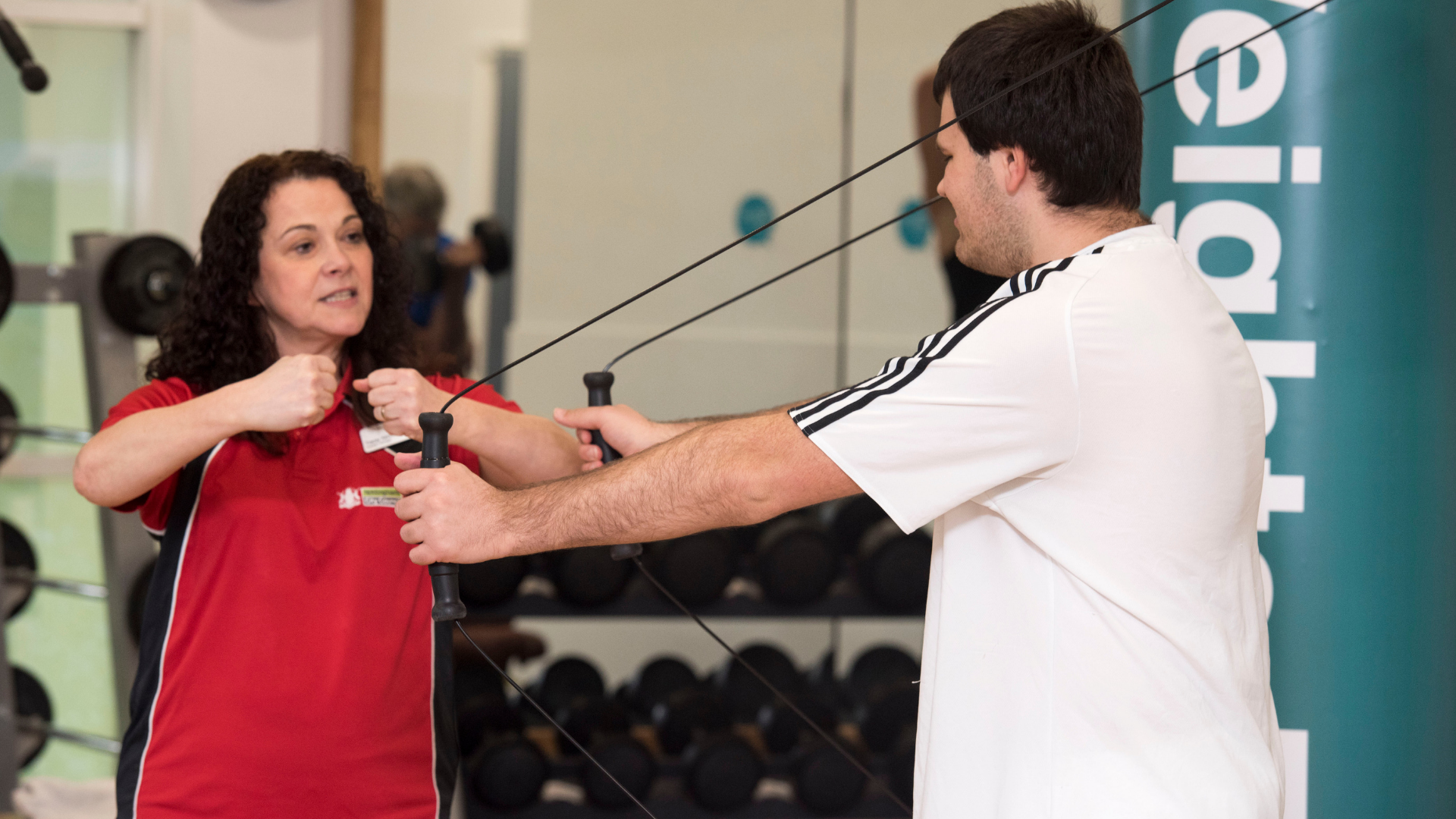 Our gyms are accessible and all abilities are welcome! We have specialist gym equipment and offer advice and guidance on how to use the equipment