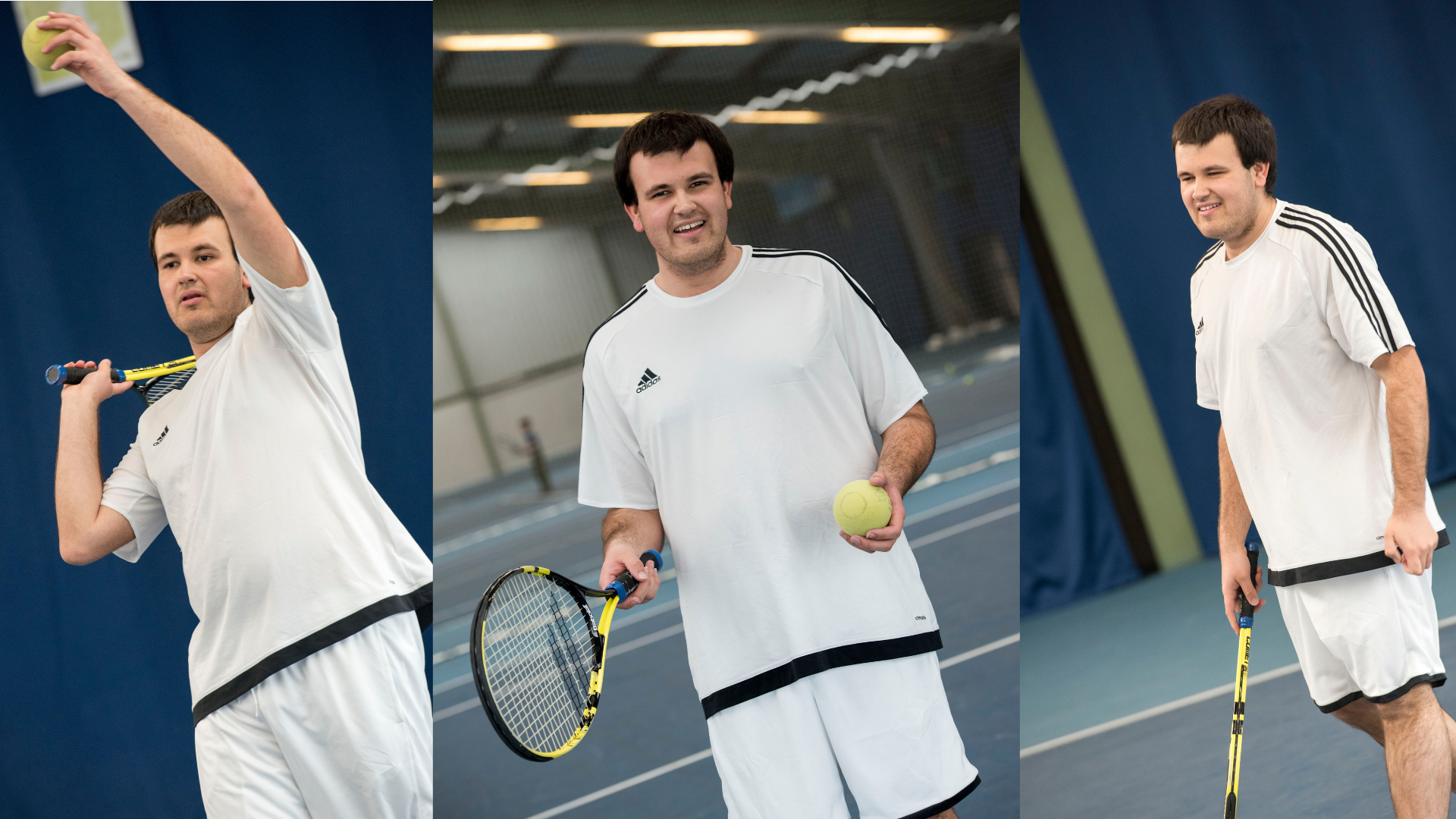Nottingham Tennis Centre run an inclusive programme which offers Wheelchair tennis and session for visually impaired and players with learning difficulties
