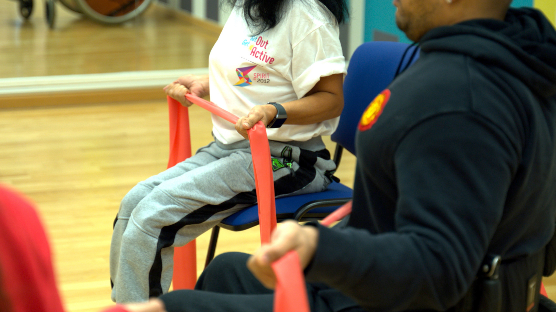 Sit Tall Stand Strong Chair Based Exercise - entry level classes for all abilities