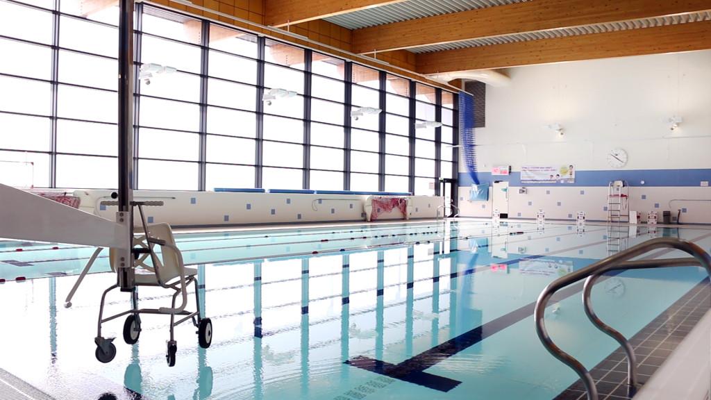 Pool Hoist at Djanogly Community Leisure Centre
